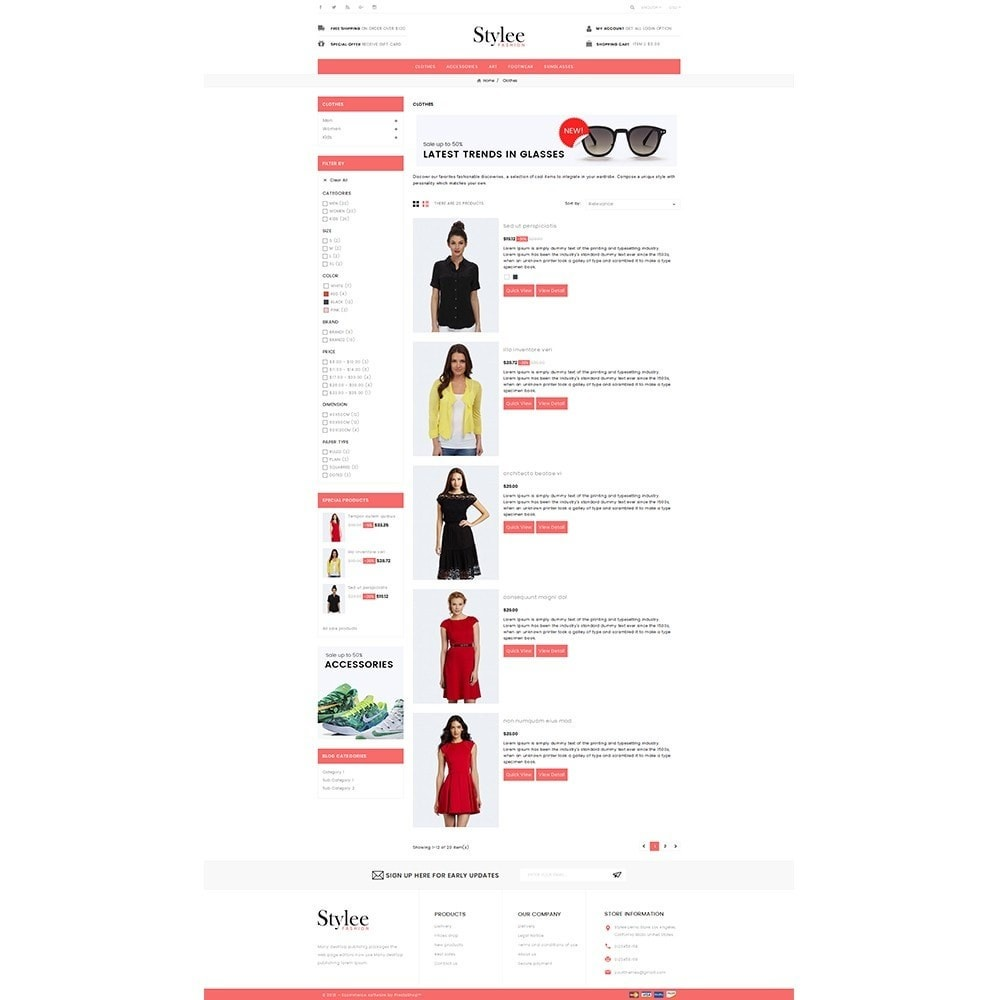 theme - Mode & Chaussures - Stylee Store - 4