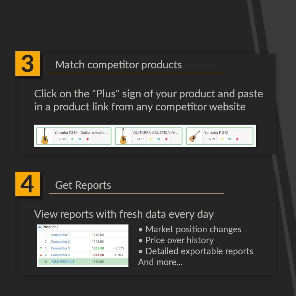 module - Analytics & Statistics - Price Portal - Dynamic pricing and Automated Analytics - 6