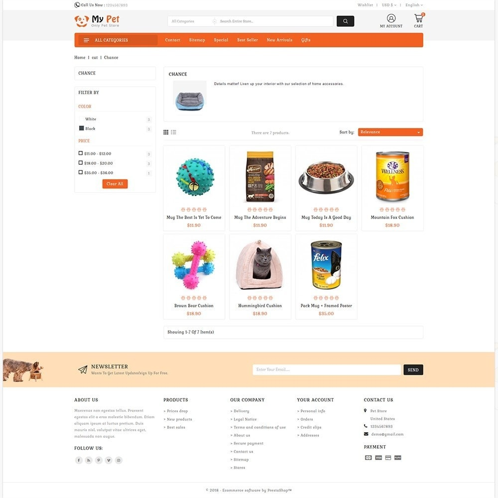theme - Zwierzęta - My Cute Pet  Store - Specials Pet Store - 2