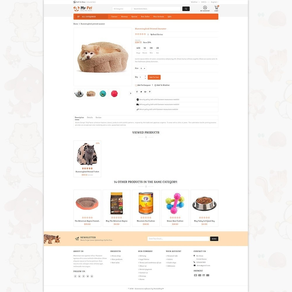 theme - Zwierzęta - My Cute Pet  Store - Specials Pet Store - 4