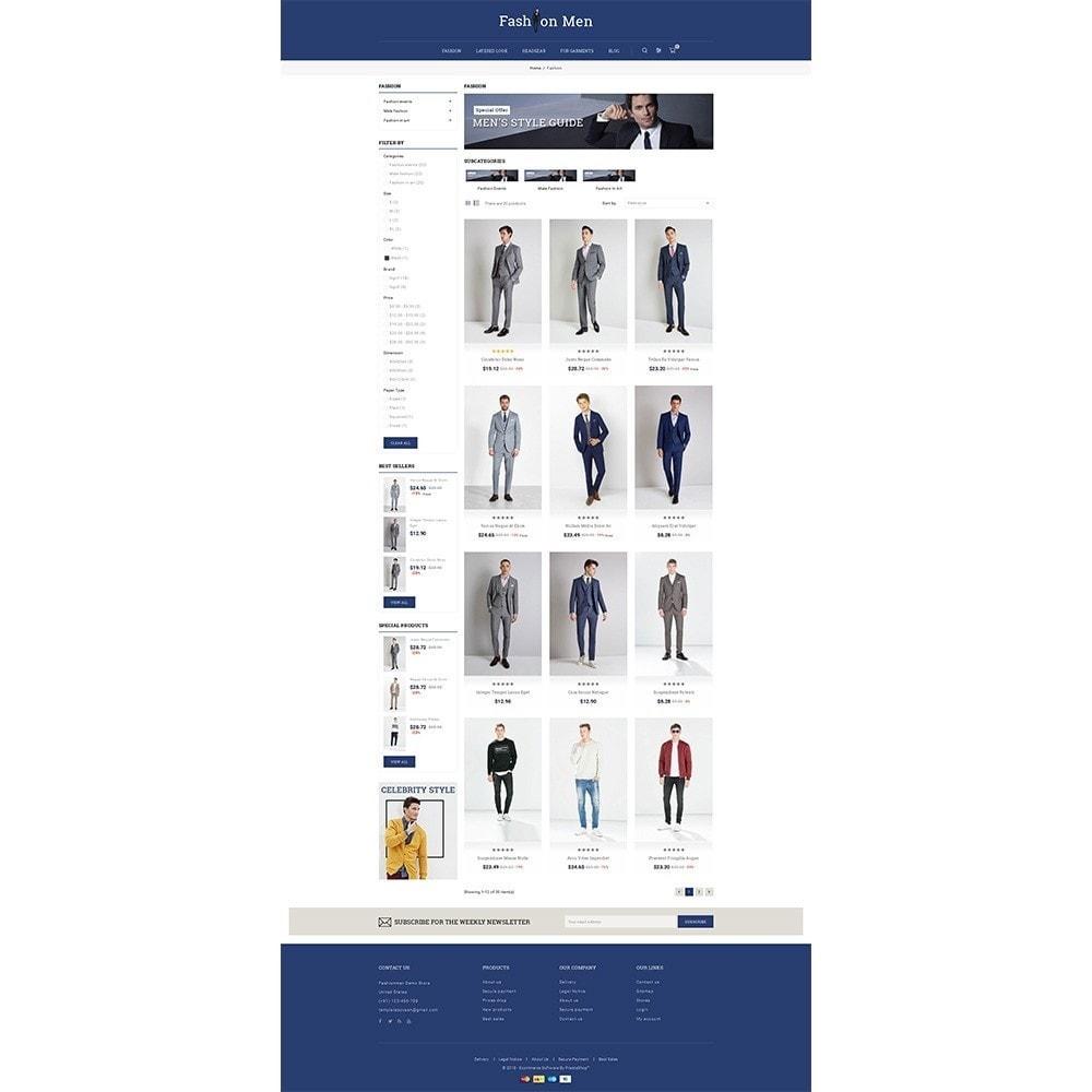 theme - Fashion & Shoes - Fashionmen Demo Store - 3