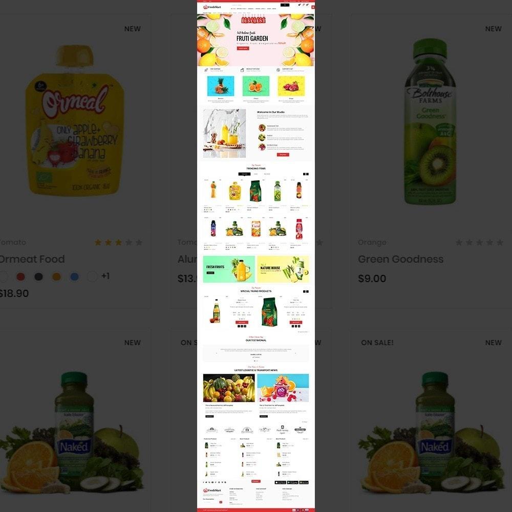 theme - Alimentos & Restaurantes - FreshMart – Organic Mega Store - 2