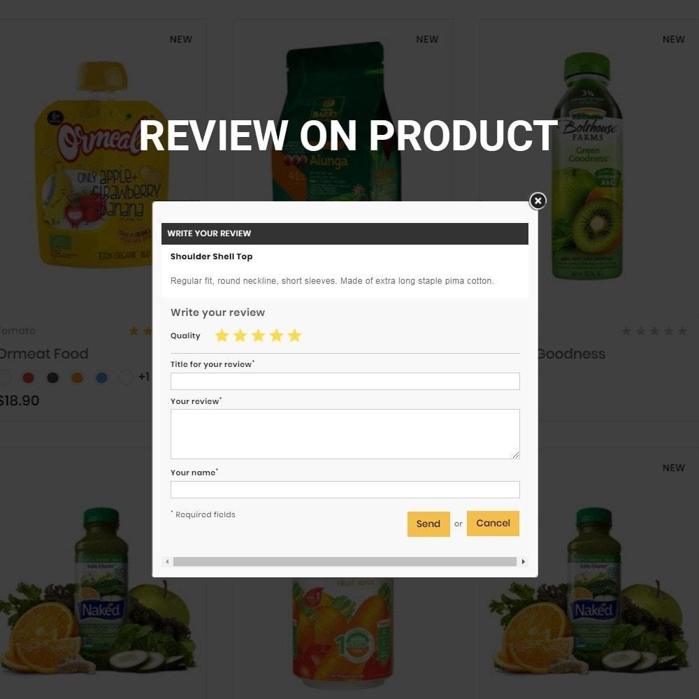 theme - Alimentos & Restaurantes - FreshMart – Organic Mega Store - 9