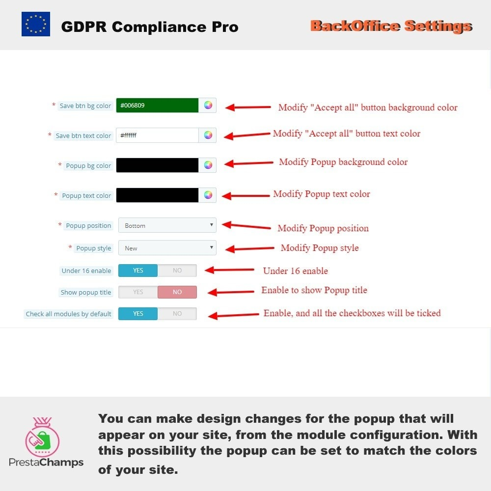 module - Администрация - GDPR Compliance Pro - 2020 Enhanced Edition - 22