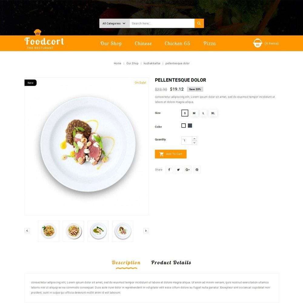 theme - Gastronomía y Restauración - Foodcort Restaurant - 6