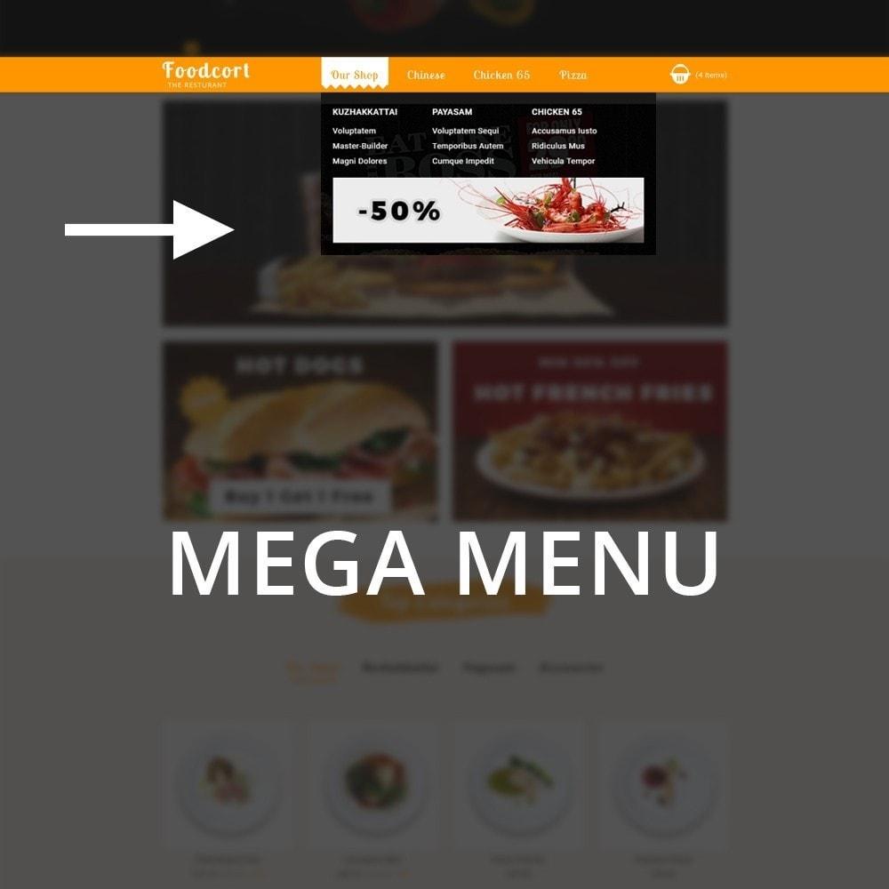 theme - Gastronomía y Restauración - Foodcort Restaurant - 9
