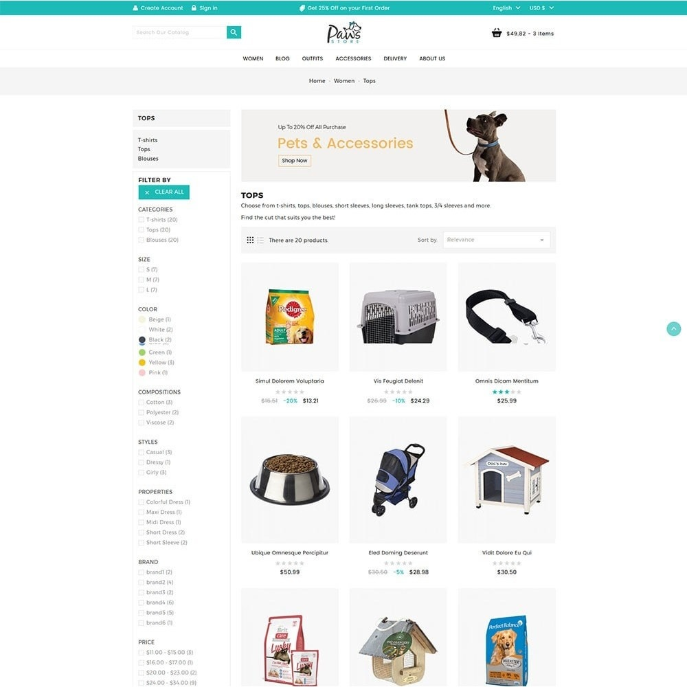 theme - Animaux - Paws Pet Store - 4