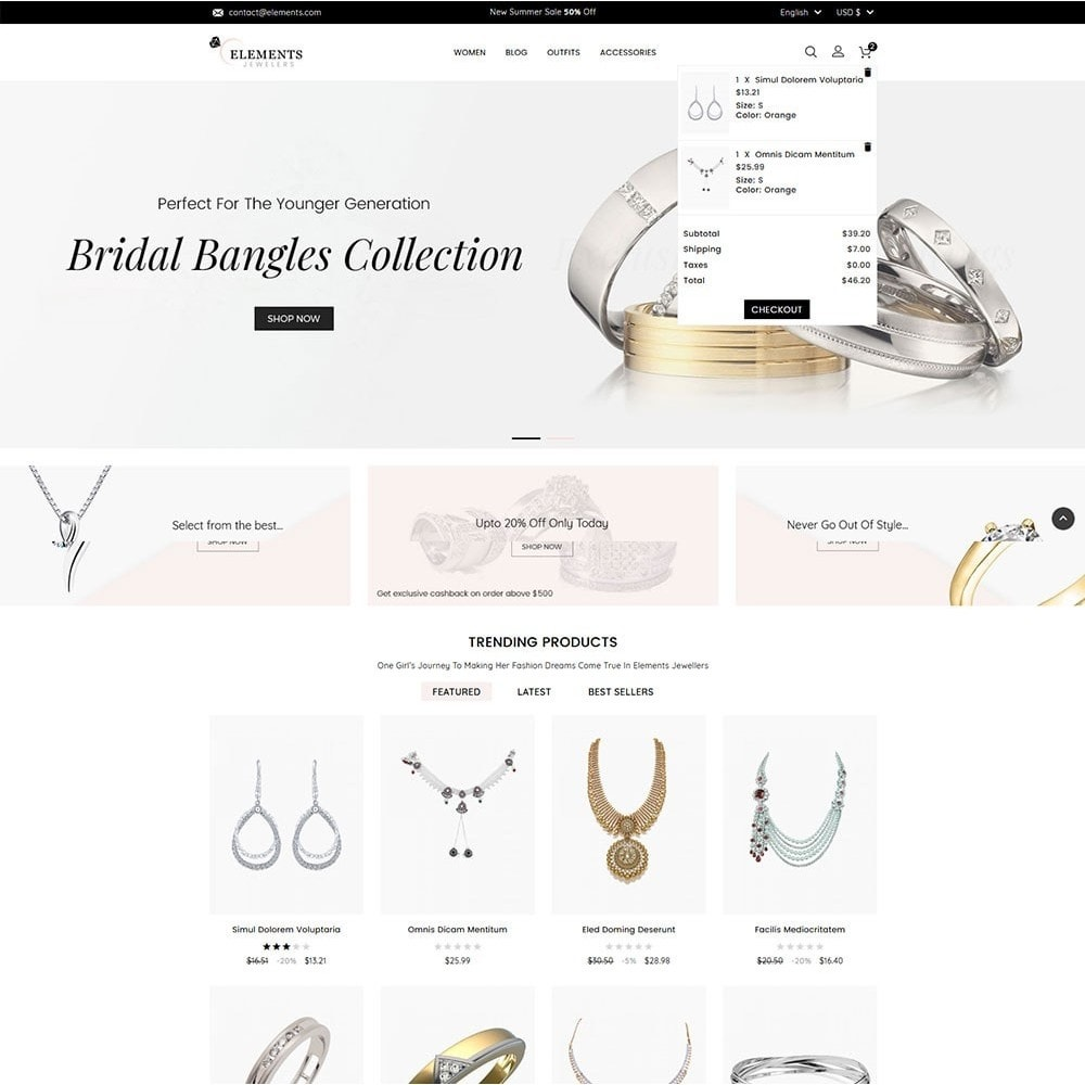 theme - Jewelry & Accessories - Elements Jewellery Store - 3