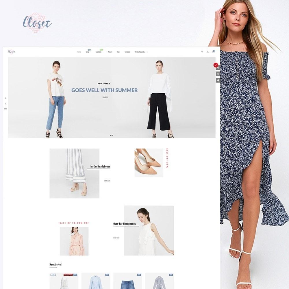 theme - Moda & Calçados - Leo Closet - 1