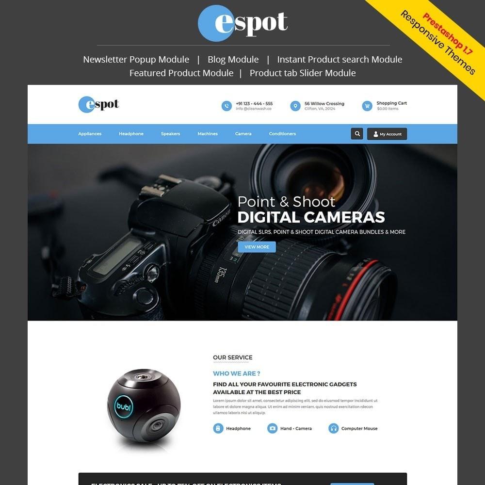 theme - Electrónica e High Tech - Spot Electronics Store - 1