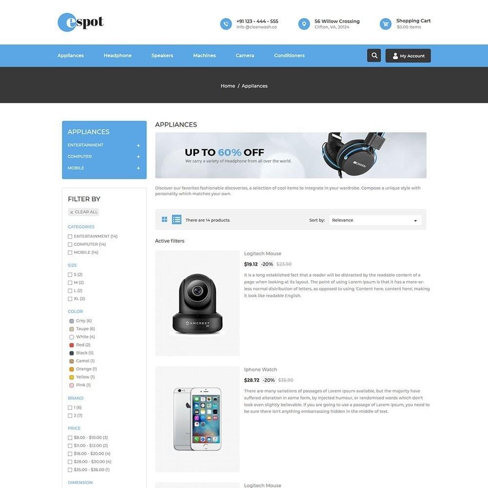 theme - Electronics & Computers - Espot Electronics Store - 4