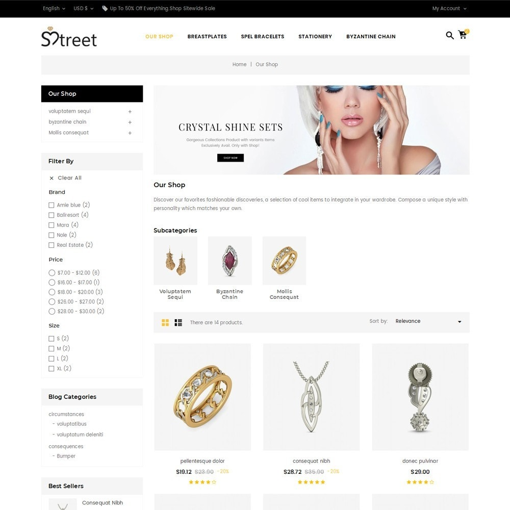 theme - Schmuck & Accesoires - Treet - The Jewelry Store - 4