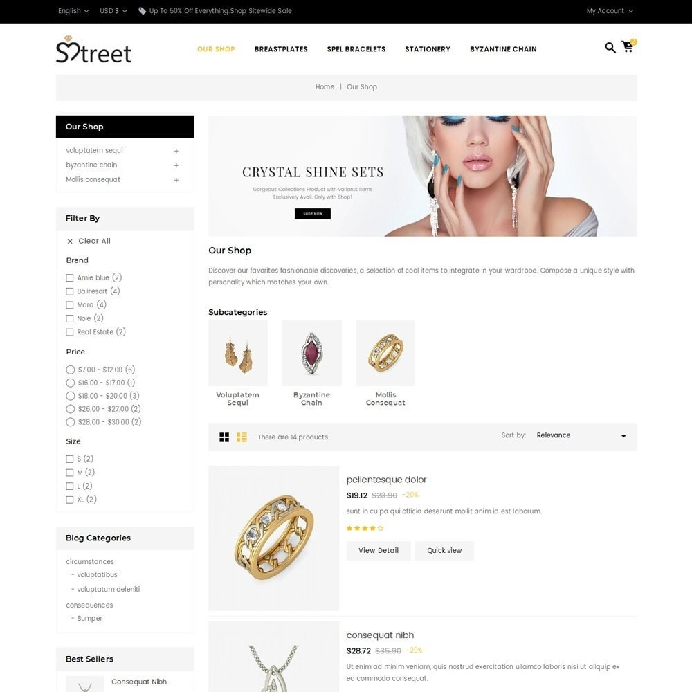 theme - Schmuck & Accesoires - Treet - The Jewelry Store - 5