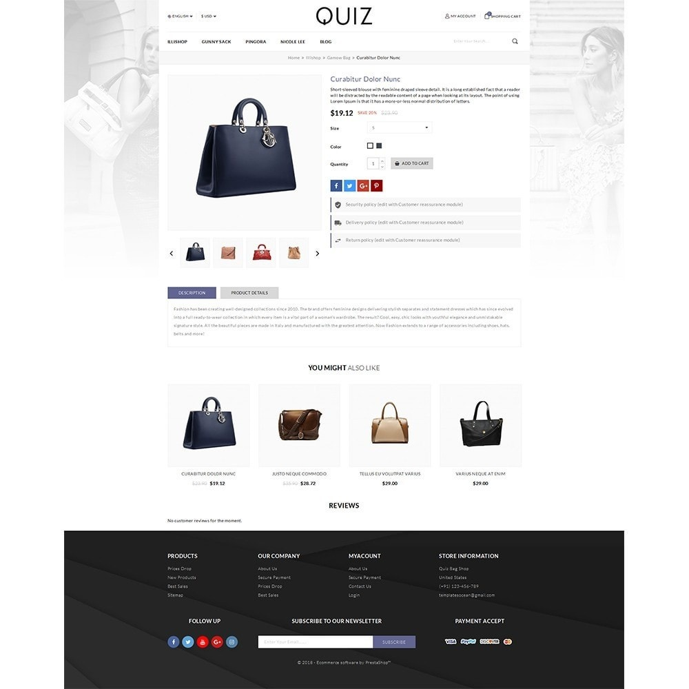 theme - Jewelry & Accessories - Quiz Bag Store - 3