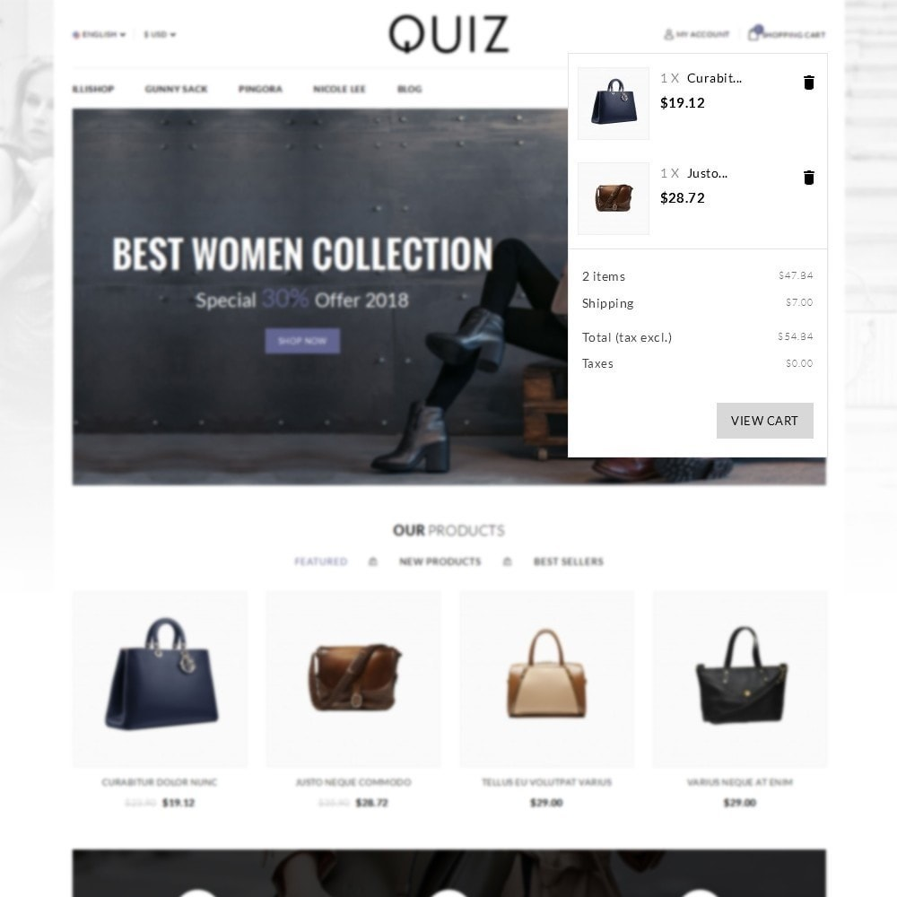 theme - Jewelry & Accessories - Quiz Bag Store - 6
