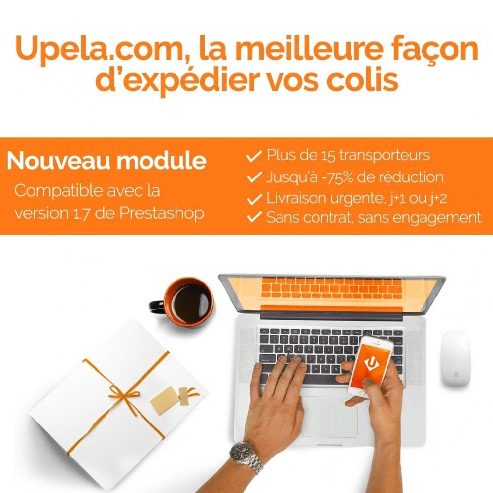 module - Transporteurs - Upela - Envois de colis au meilleur prix - 1