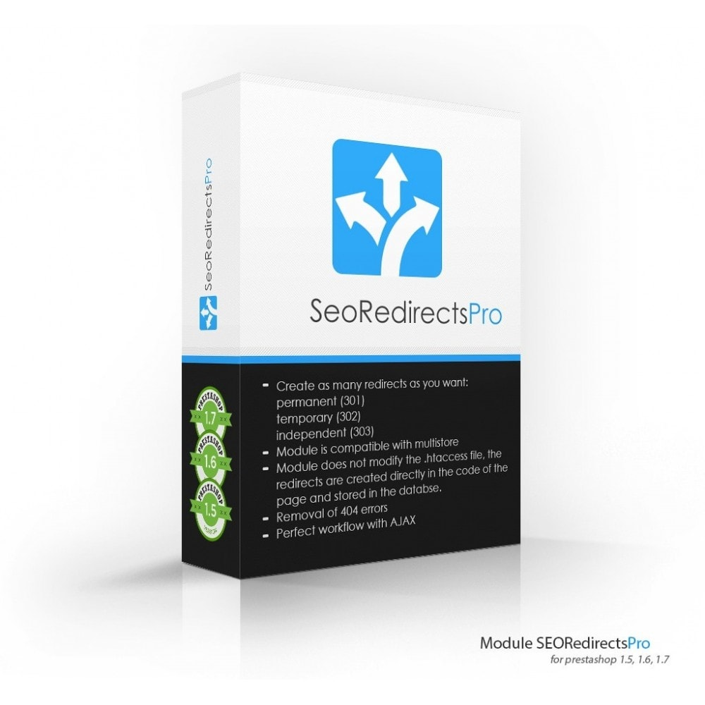module - URL & Redirects - Seo Redirects Pro (301, 302, 303 URL Redirects) - 1