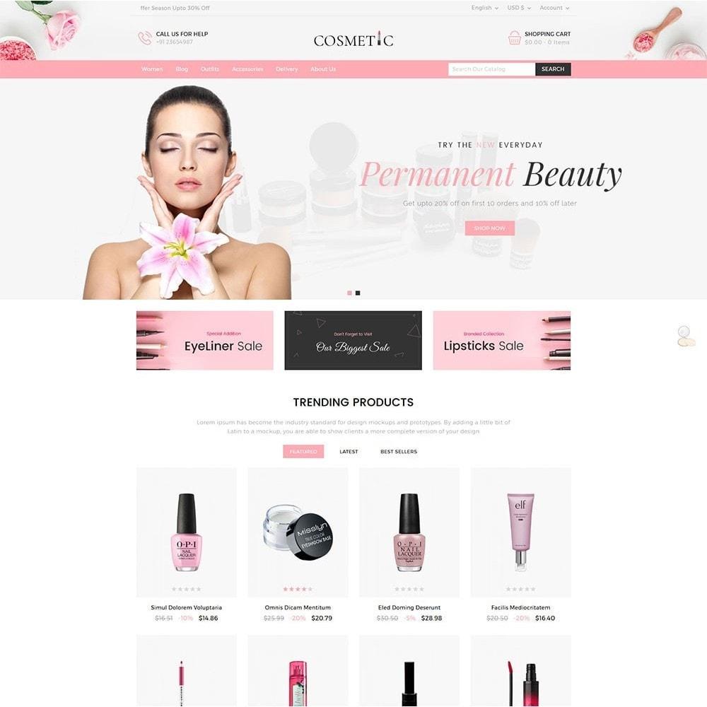 theme - Zdrowie & Uroda - Cosmetics Store - 2