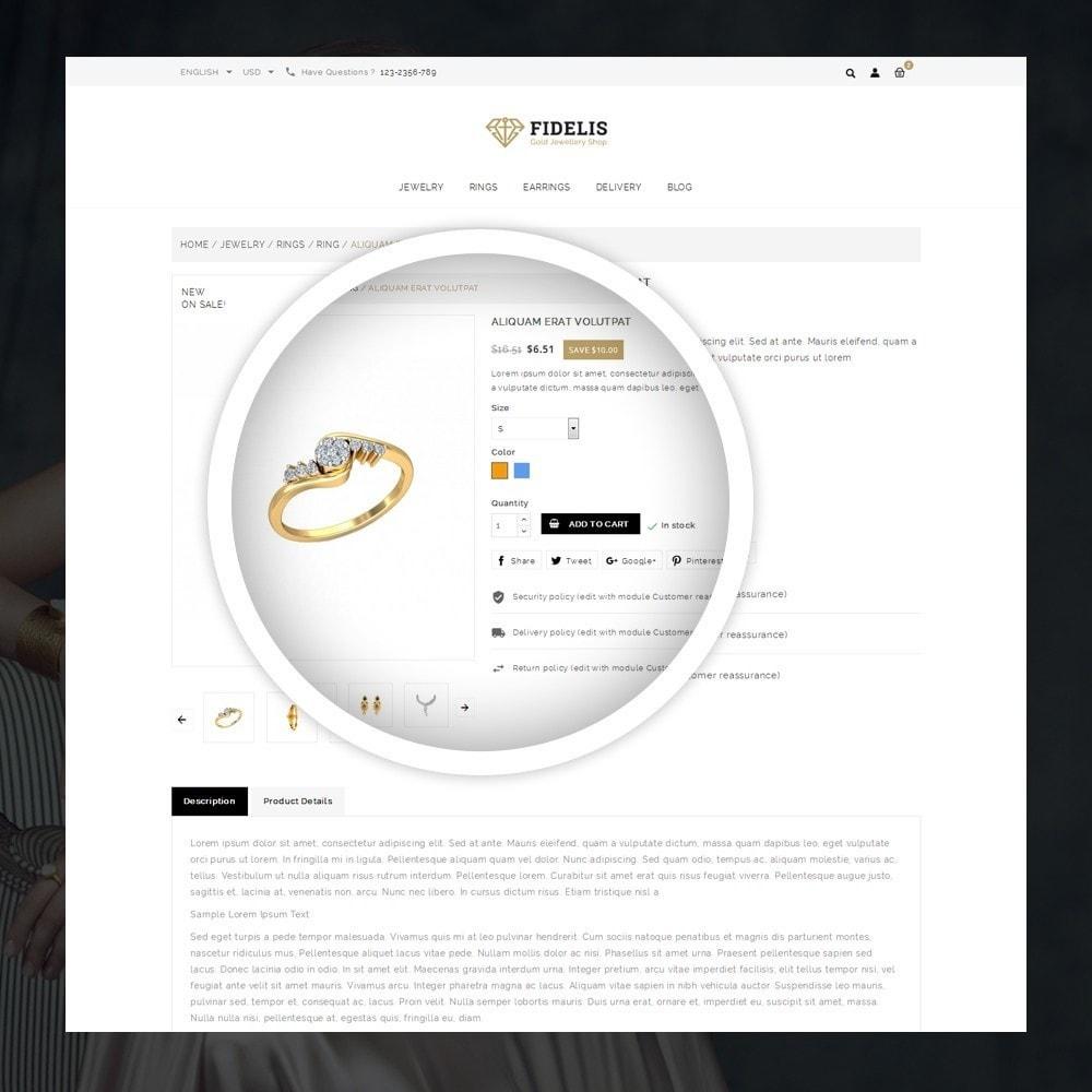 theme - Jewelry & Accessories - Fidelis - Jewelry Store - 4