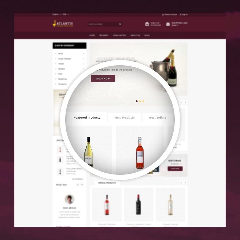 theme - Napoje & Wyroby tytoniowe - Atlantis - The Wine Shop - 9