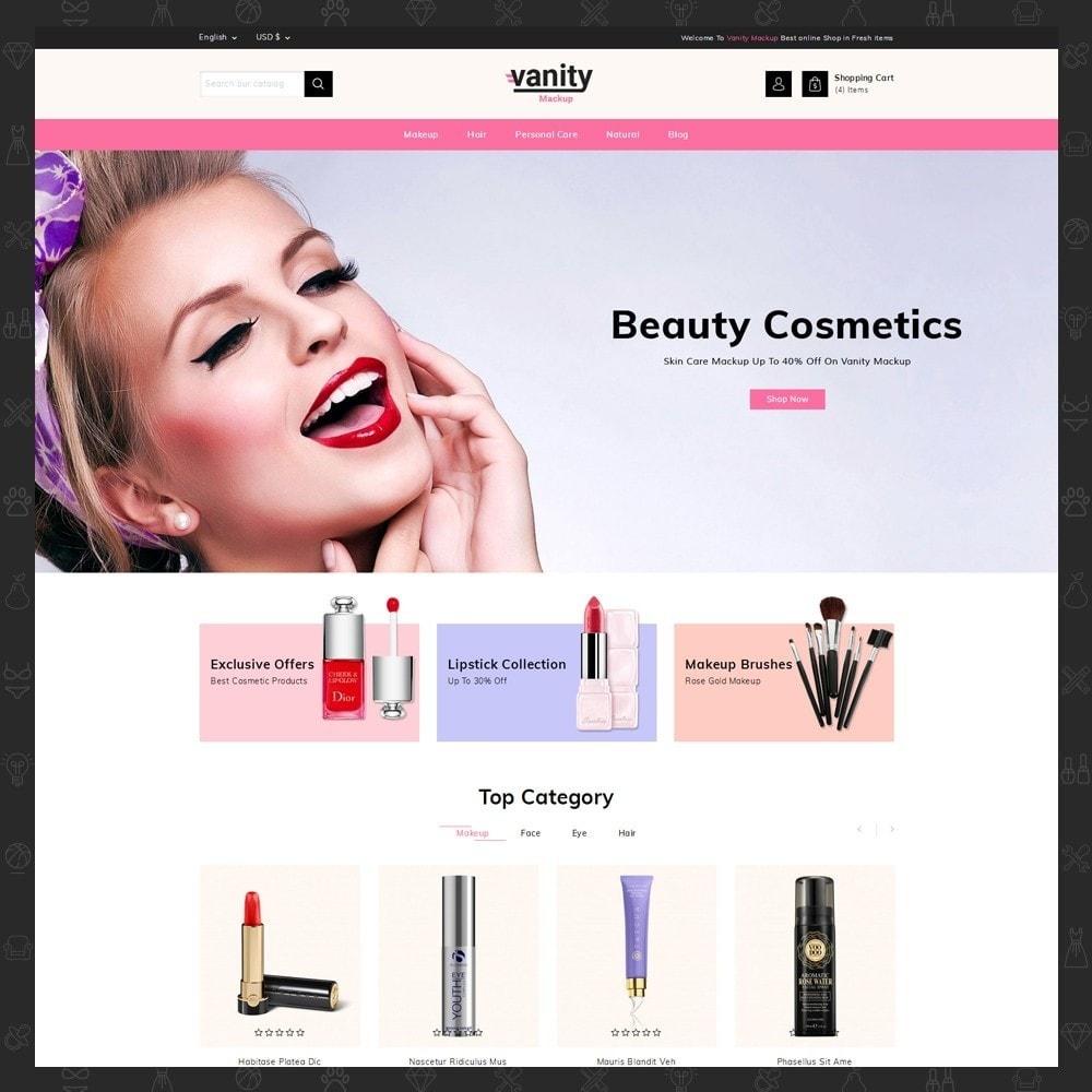 theme - Health & Beauty - Vanity - Mackup Store - 2