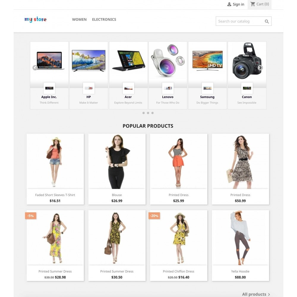 module - Marcas y Fabricantes - Brands Wall Navigation: slider or block - 2