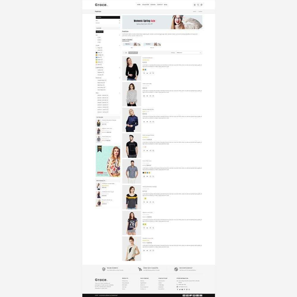 theme - Moda & Obuwie - Grace Fashion Store - 4