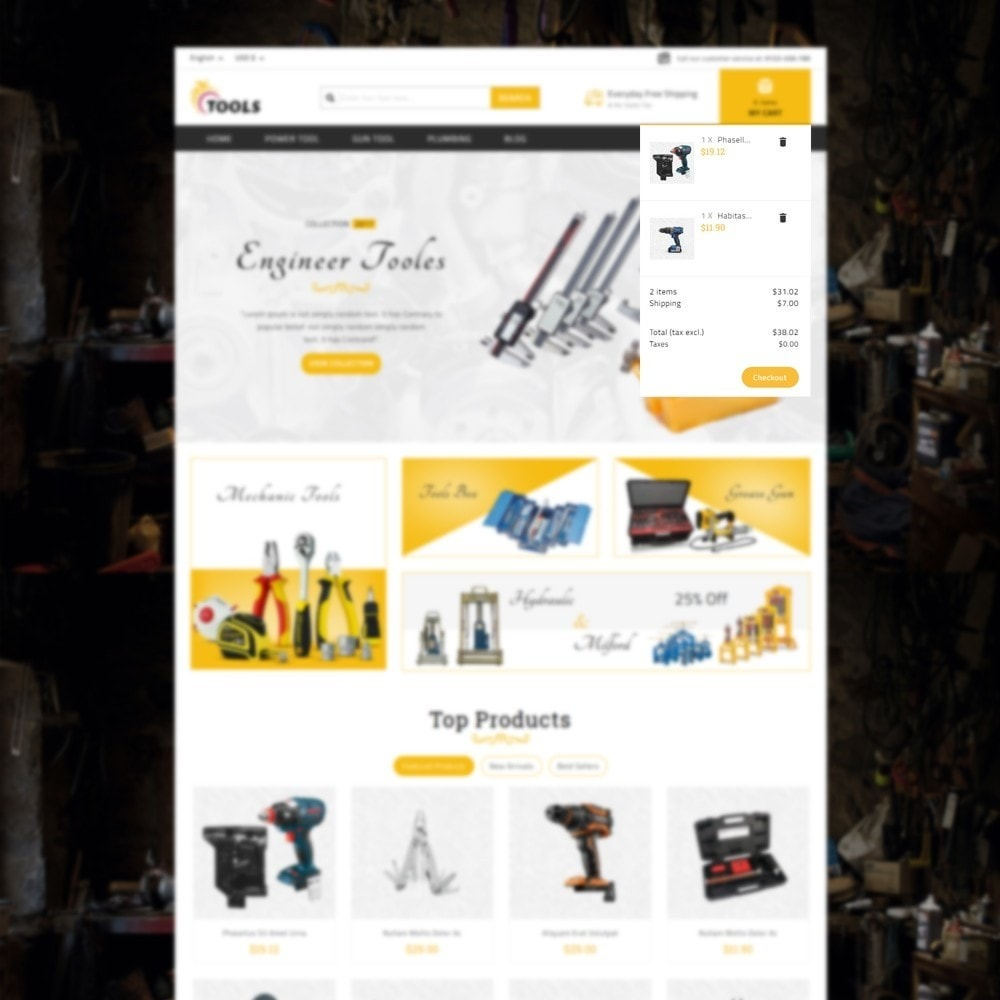 theme - Elektronik & High Tech - Tools Store - 7