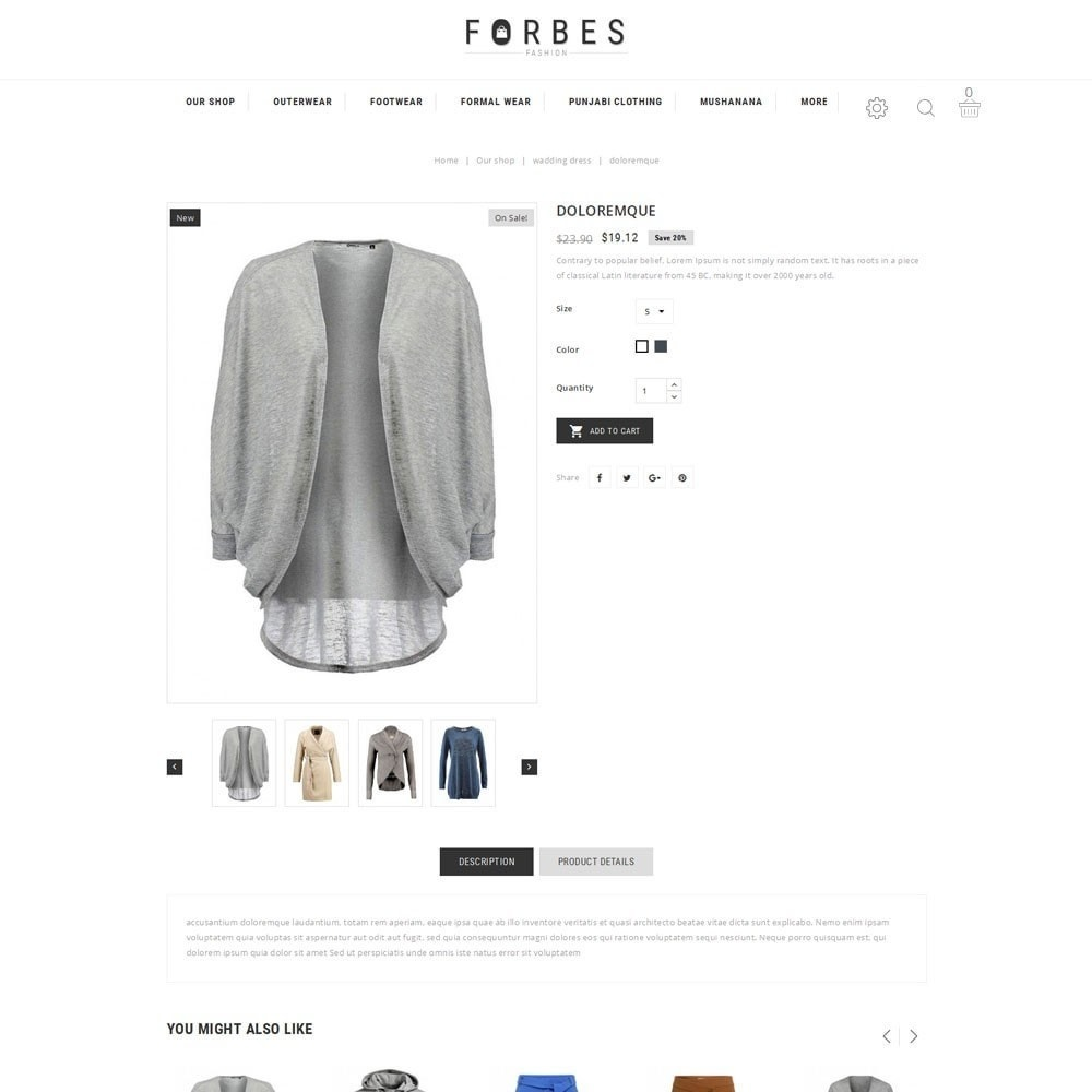 theme - Moda & Obuwie - Forbes - The Fashion Store - 6