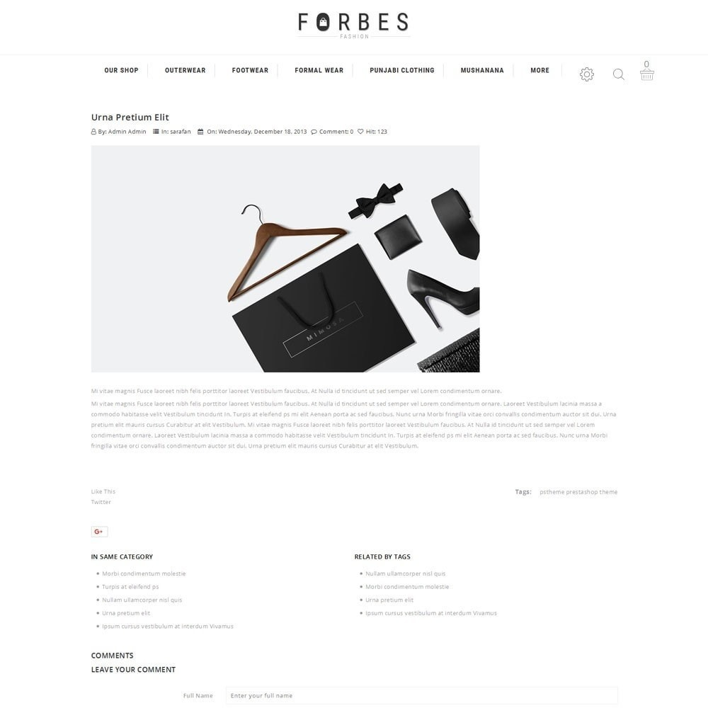 theme - Moda & Obuwie - Forbes - The Fashion Store - 7