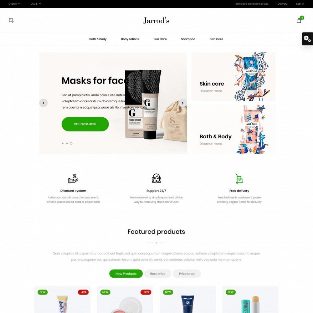 theme - Zdrowie & Uroda - Jarrod's Cosmetics - 2