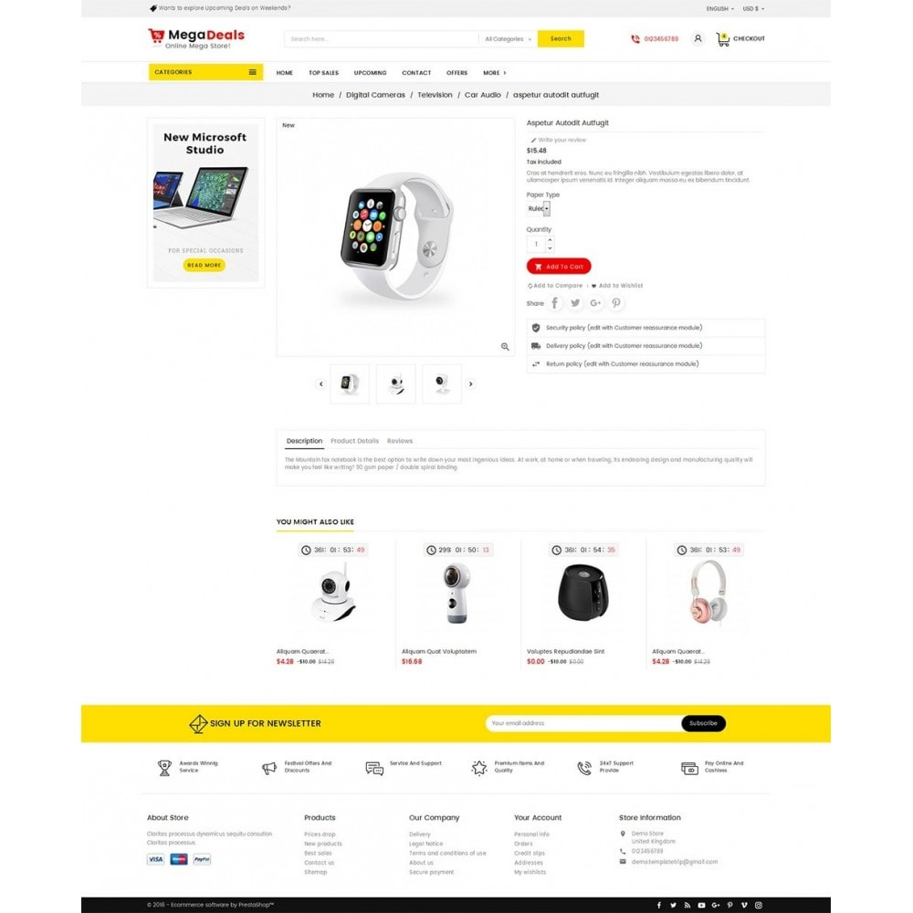 theme - Электроника и компьютеры - Mega Deals Electronics - 5
