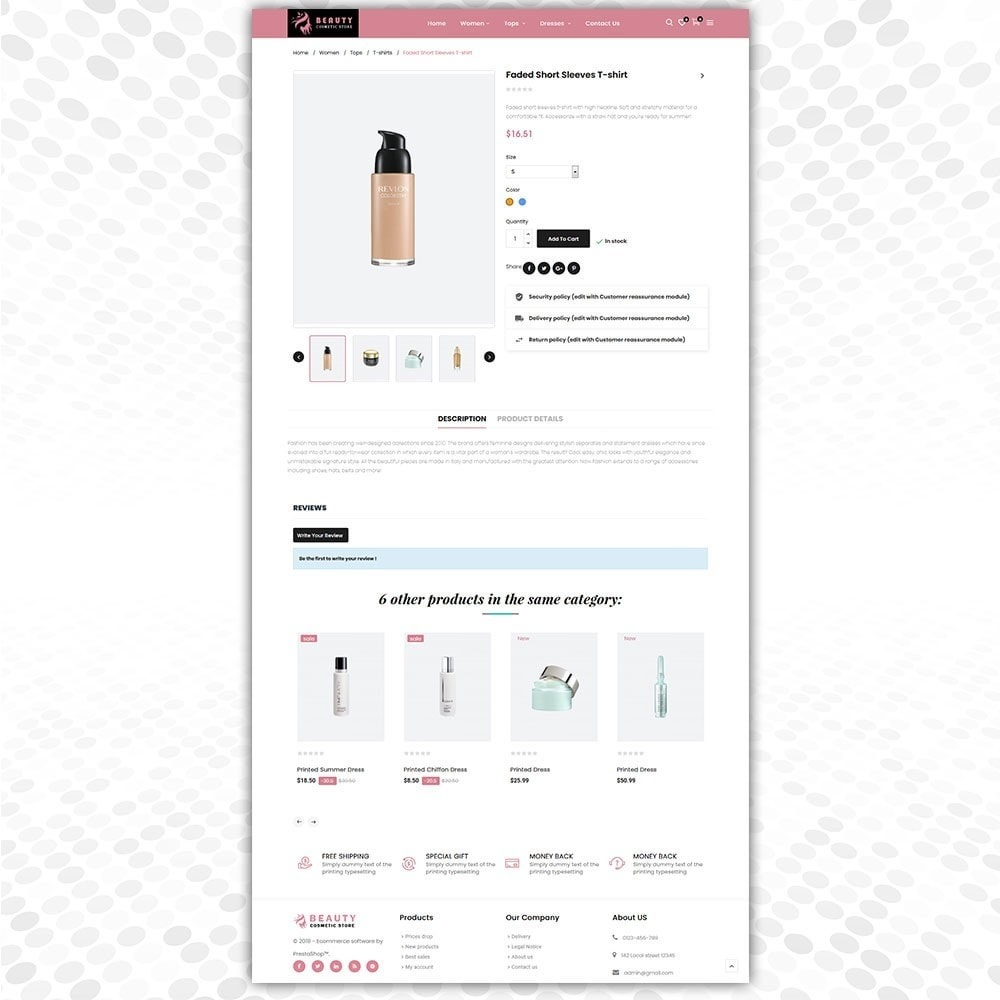 theme - Fashion & Shoes - Cosmetic Store - 5
