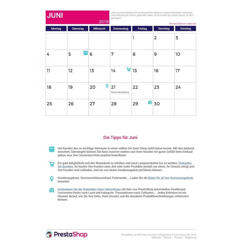 other - eCommerce Kalender - E-Commerce-Kalender für das zweite Halbjahr 2018 - 2
