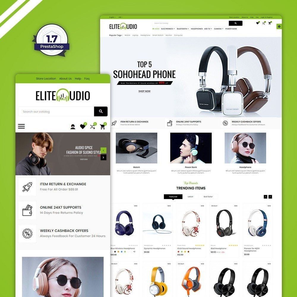 theme - Elettronica & High Tech - Elite Audio – The Electronic Store - 1