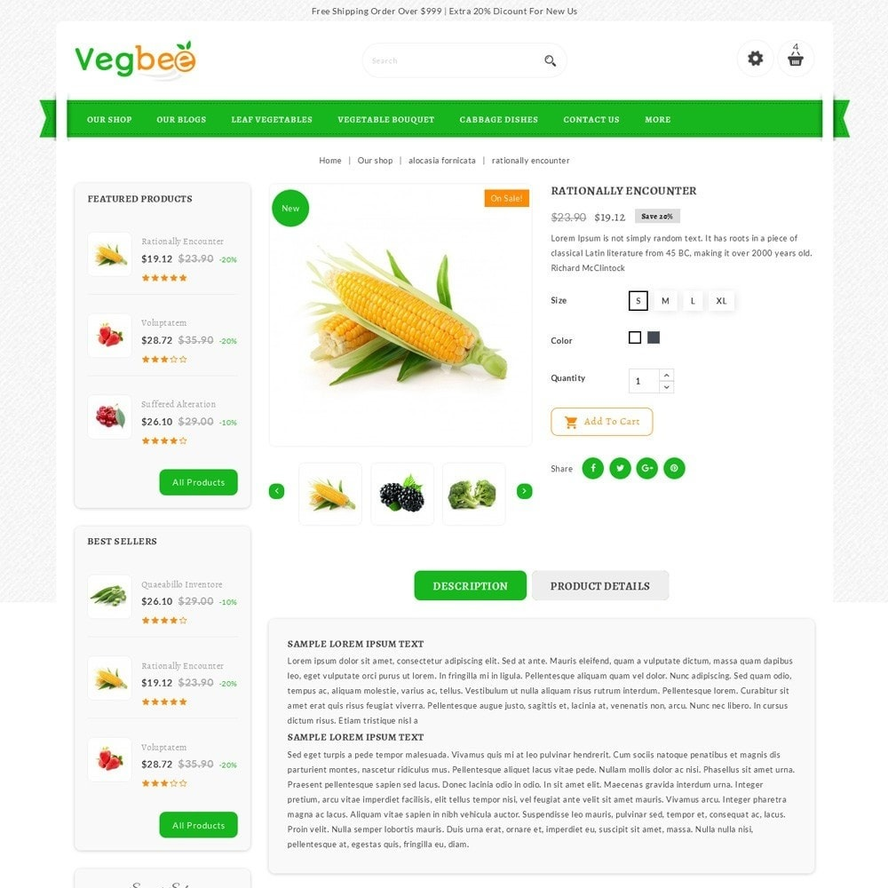 theme - Alimentation & Restauration - Vegbee - The Grocery Store - 6