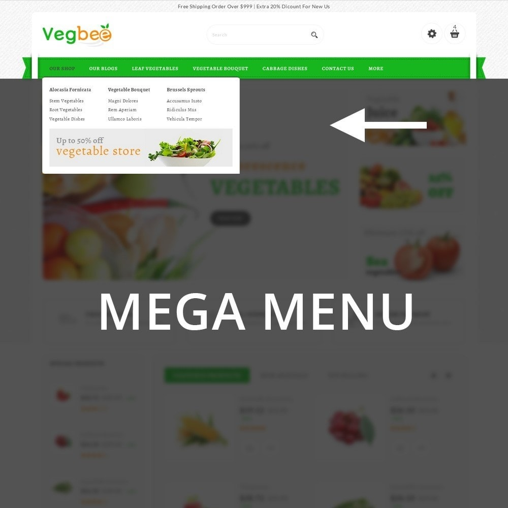 theme - Alimentation & Restauration - Vegbee - The Grocery Store - 10