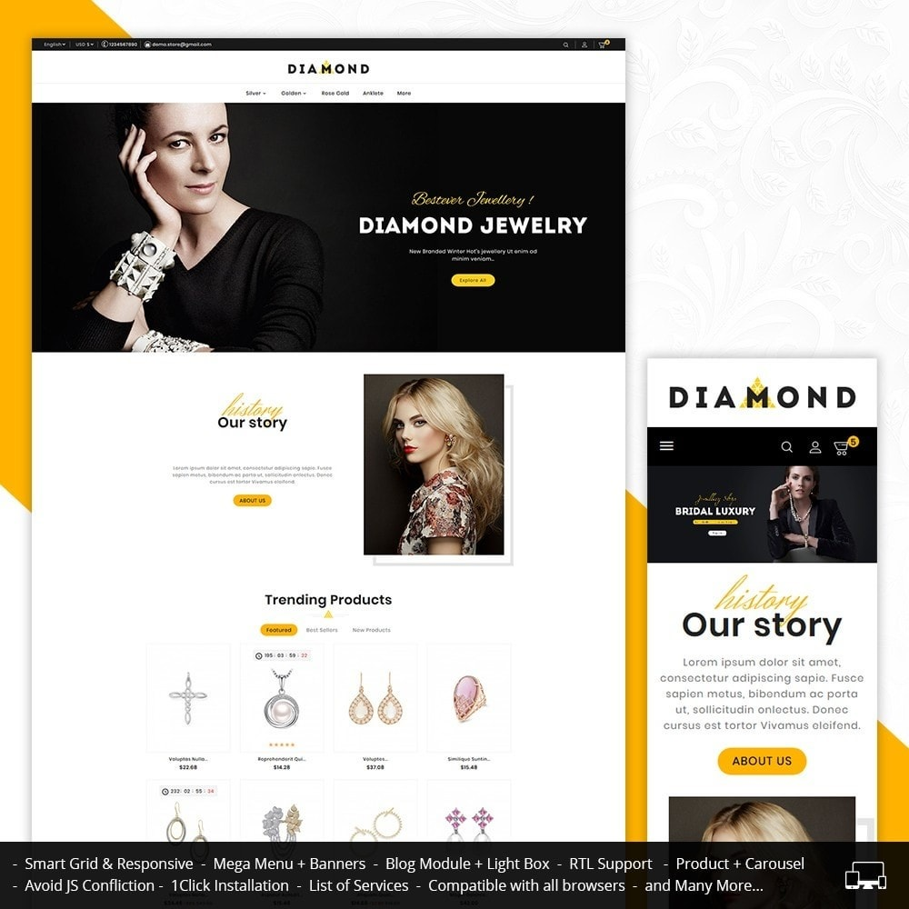 theme - Schmuck & Accesoires - Diamond Jewelry - 1