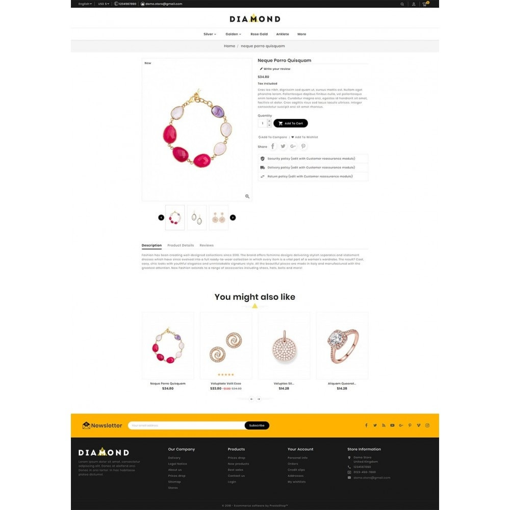 theme - Joyas y Accesorios - Diamond Jewelry - 5