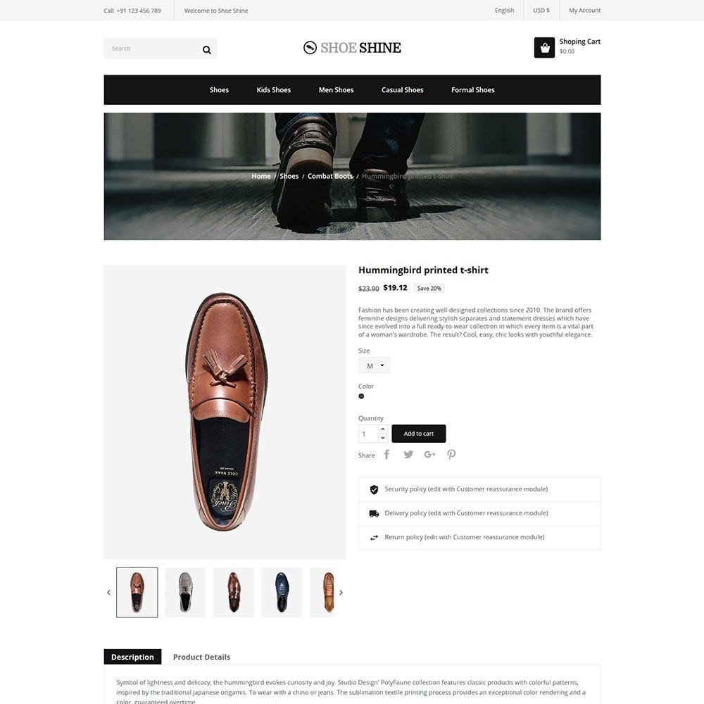 theme - Moda & Obuwie - Shoe Shine Fashion Store - 5