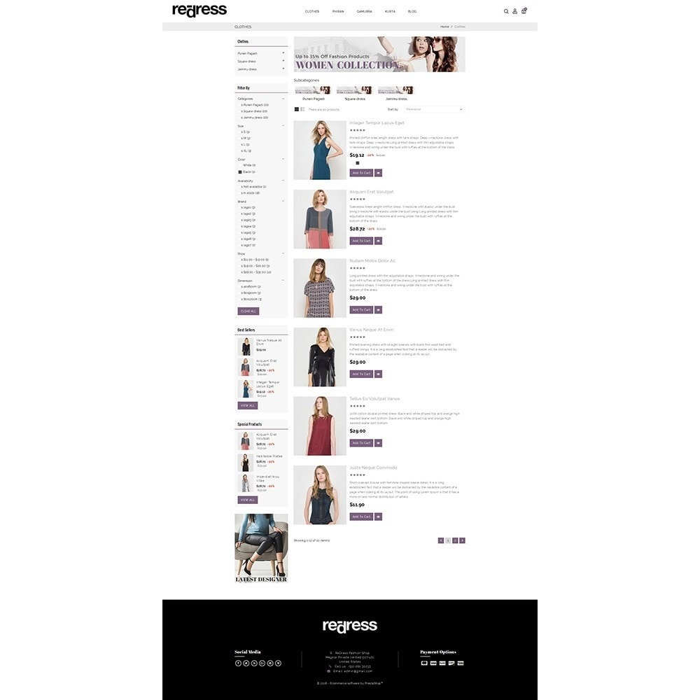 theme - Moda & Calçados - Redress Demo Store - 4