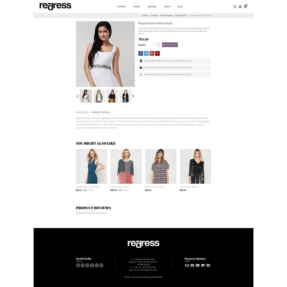 theme - Мода и обувь - Redress Demo Store - 5