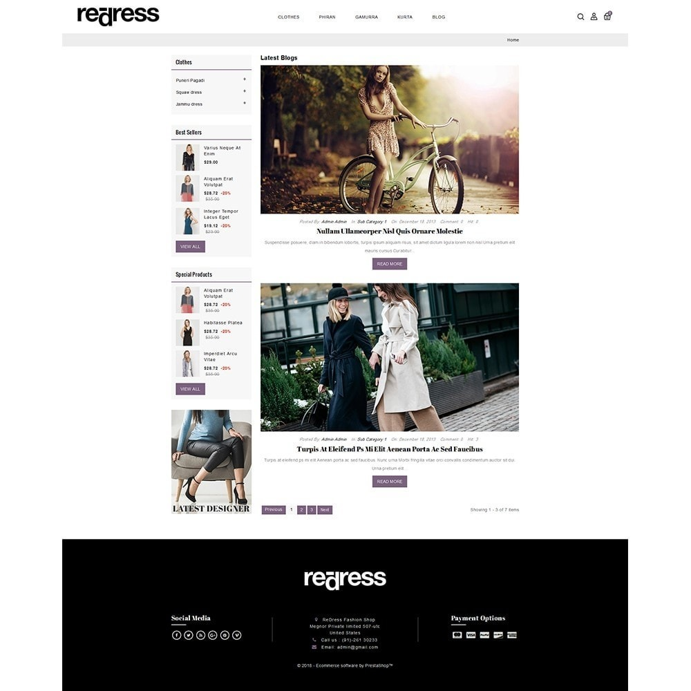 theme - Мода и обувь - Redress Demo Store - 6