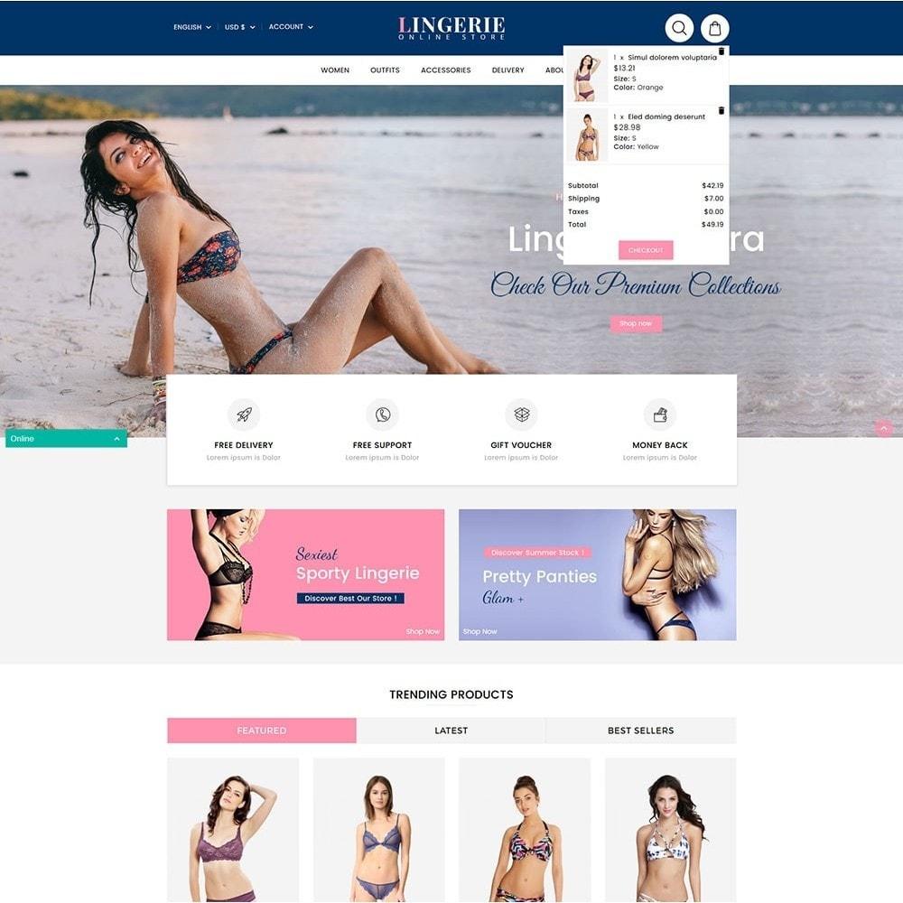 theme - Lingerie & Adulti - Lingerie Online Shop - 3