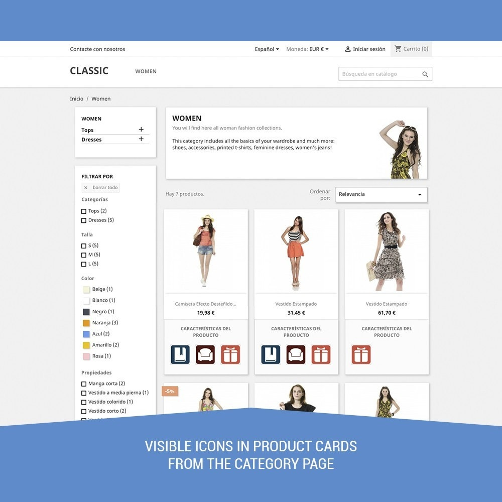module - Etiquettes & Logos - Icon Tags for products - 3