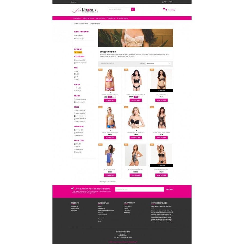 theme - Lingerie & Adultos - Lingerie winkel premium GB106 - 3
