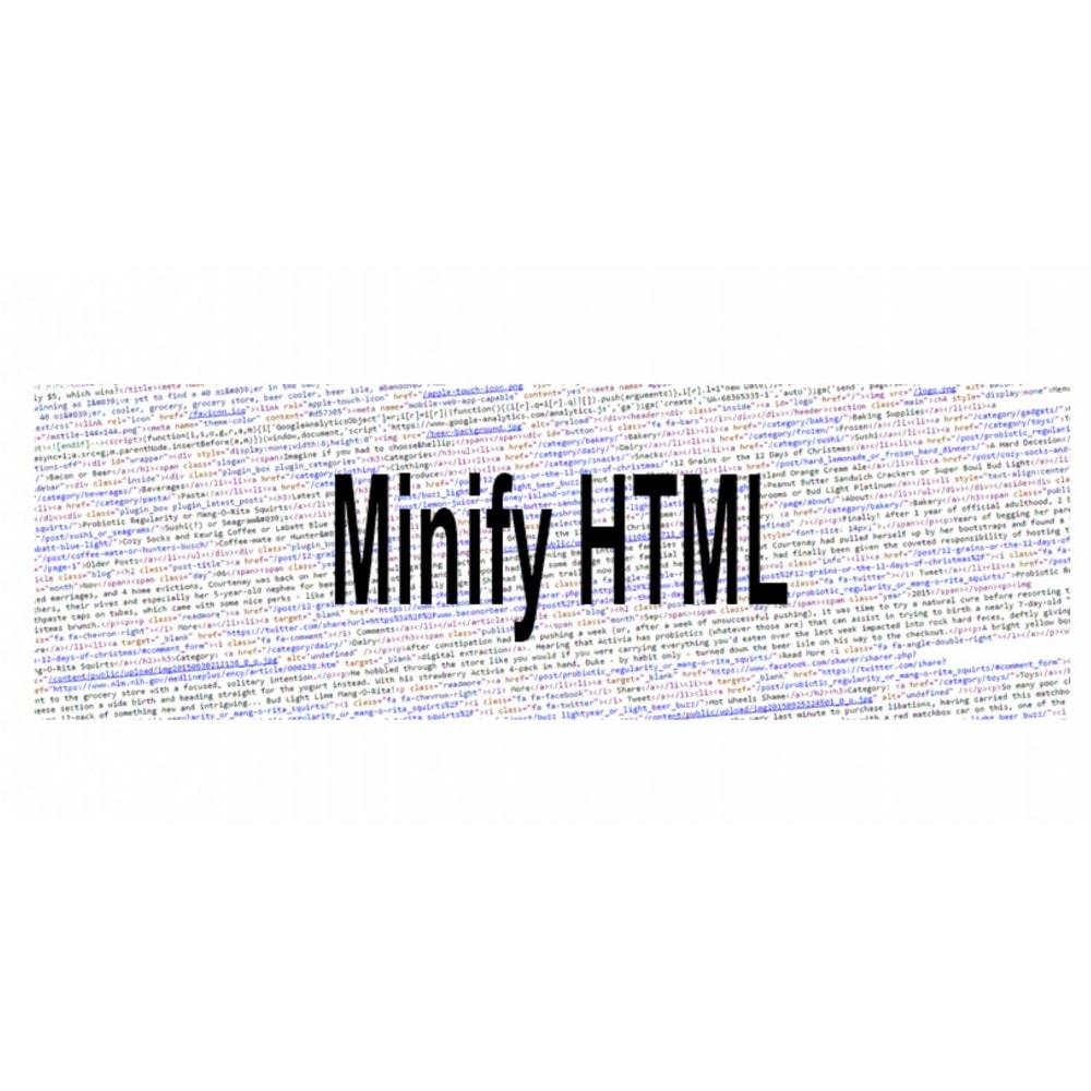 module - Rendimiento del sitio web - Minify HTML (HTML, JS inline, CSS inline) - 4
