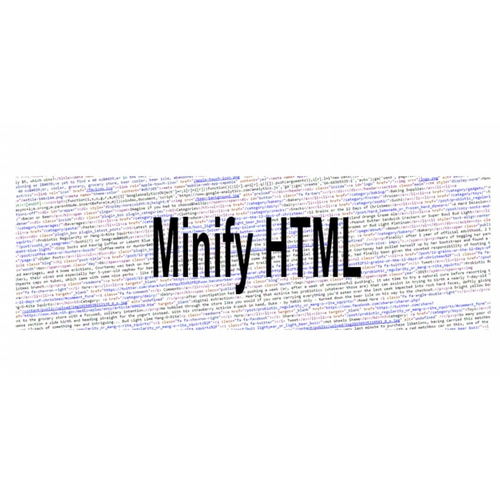 module - Performance - Minify HTML - 4