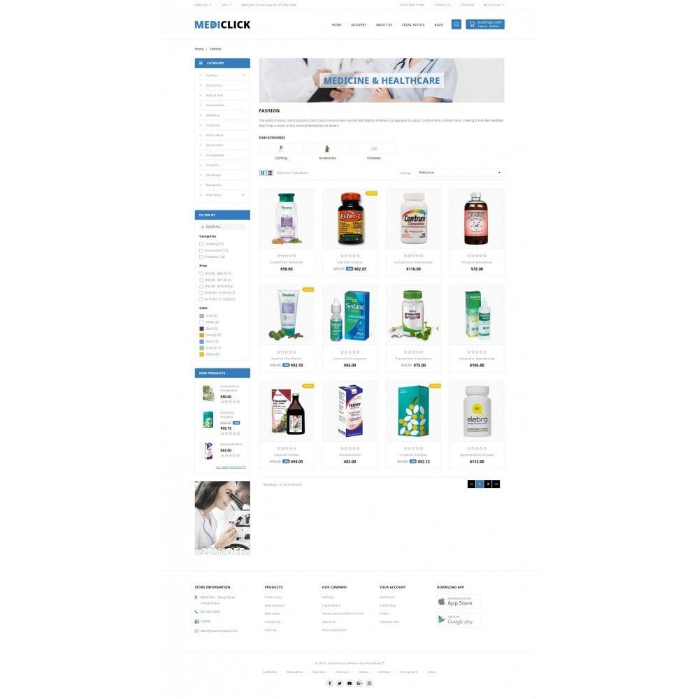 theme - Здоровье и красота - MediClick - Drugs Store - 3