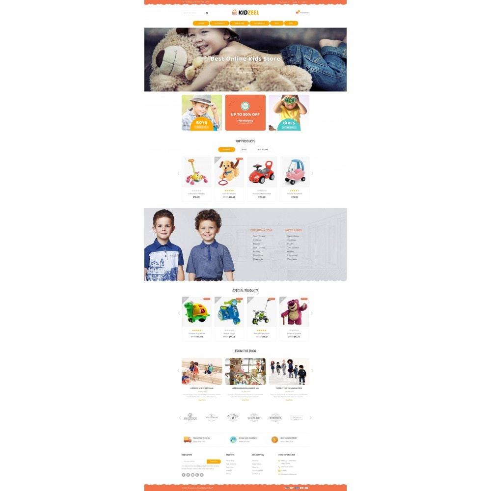 theme - Crianças & Brinquedos - KidZeel - Toys Store - 2